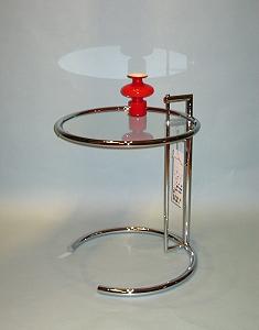 eileen gray tisch adjustable table. Black Bedroom Furniture Sets. Home Design Ideas